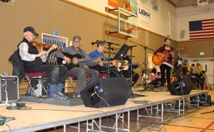 Performers at last year's Yukon Jamboree.