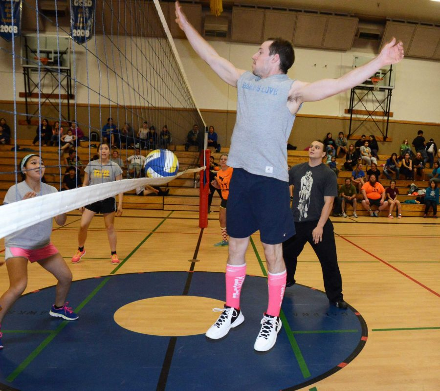 Mixed-6 volleyball tournament