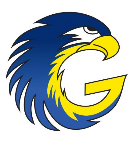 The Galena Hawk logo is the creation of Dave Pavish, the former GILA fcoordinator of student services. He created the logo in March 2011 after seeing a similar logo from the University of Washington combining the school's name and mascot.