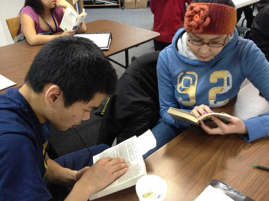 Students study for an upcoming assessment in this 2013 file photo.