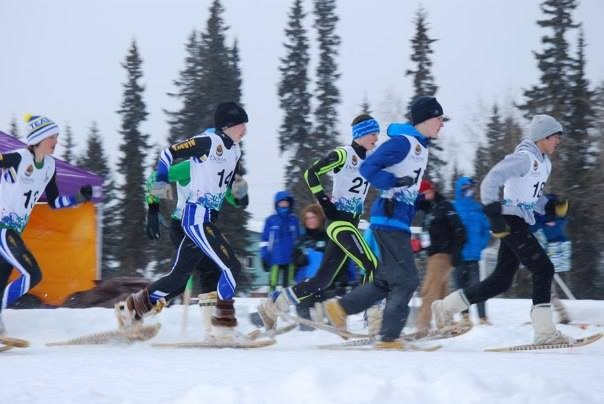 Galena skier Jacob Moos is shown here at last years Arctic Winter Games. Hes one of the returning skiers on this years cross-country ski team. Thanks to Connie Moos for this photograph.