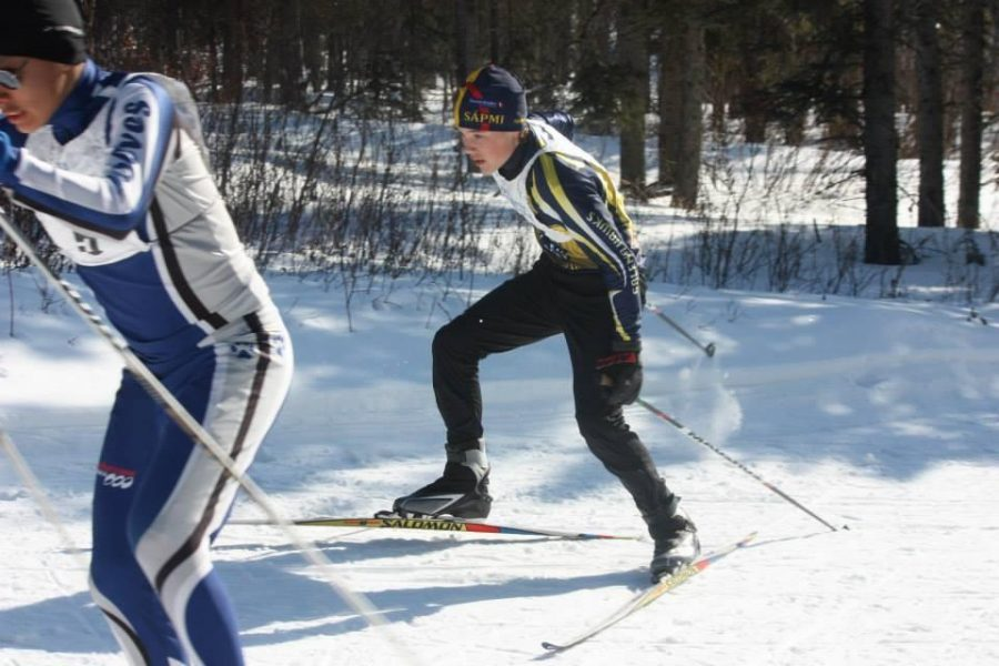 Jacob Moos, a freshman, is one of the two Galena athletes headed to next year's Arctic Winter Games following their performances at the WISA meet at White Mountain. Thanks to Connie Moos for this photo.