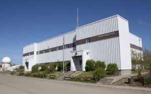 The headquarters building on the GILA campus.