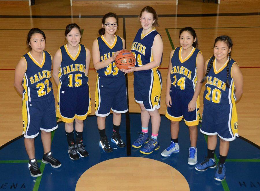 The+Galena+Lady+Hawks+junior+varsity+team.