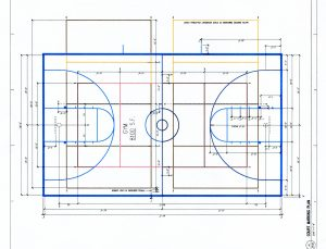 The new paint for the new floor in the SHS gym. Source: Architects Alaska.