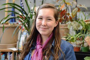 Angelica Firmin, new student representative to the GCSD school board.