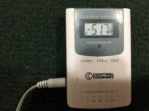 This was the temperature in Galena the morning of Jan. 19, 2017, but it's nothing compared to what it was in 1989.