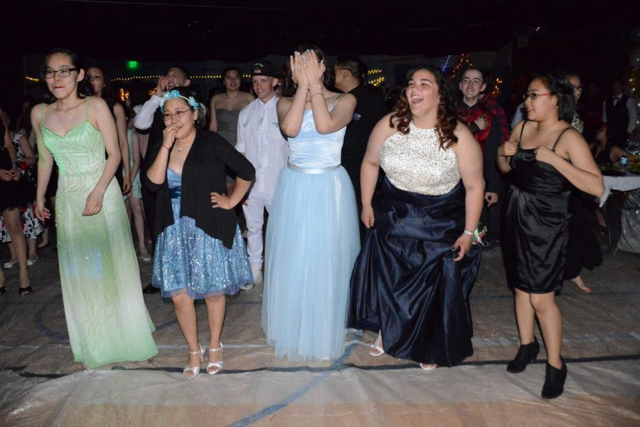 A scene from last year's prom.