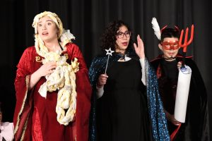 """Students performing in last semester's production of """"The Brothers Grimm Spectaculathon."""""""