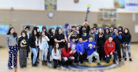 The Spirit Stick winners - the class of 2020